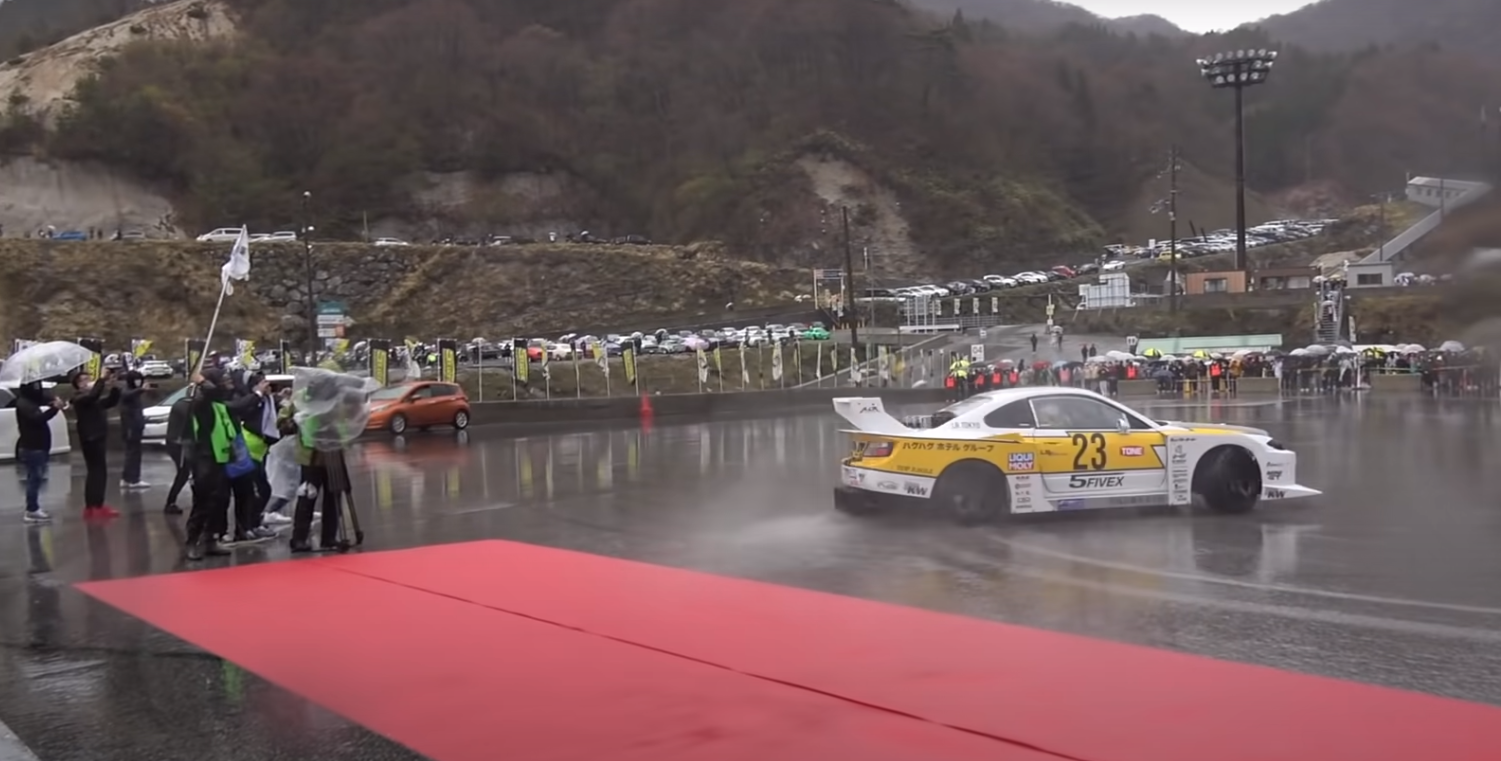 Drift Car Wunderkind! Check Out The Rev On This Mazda Machine